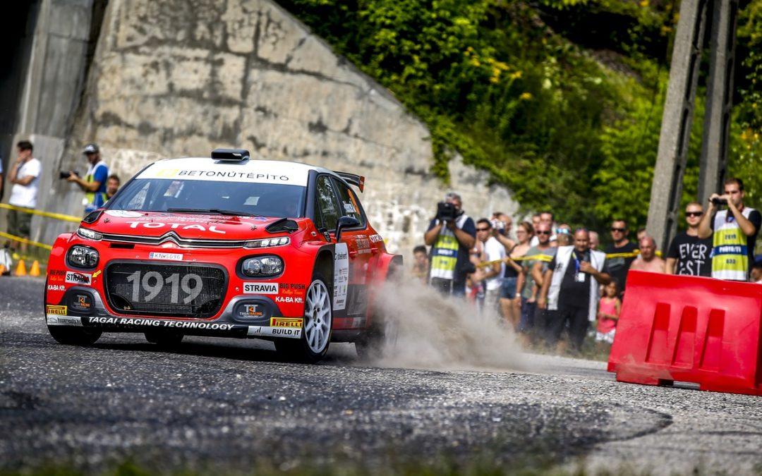 Velenczei Ádám és Zsiros Gábor a Citroënnel már a bajnokság második helyén!