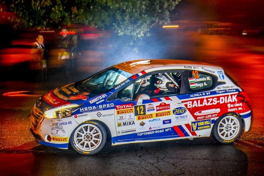 Csomósék egy pontra vannak a Peugeot Kupa bajnoki címétől.