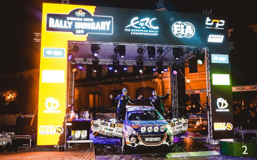 Maiorék a versenyt, Csomósék a bajnokságot nyerték a Peugeot Kupában Nyíregyházán.
